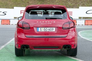 2013 Porsche Cayenne GTS rear view