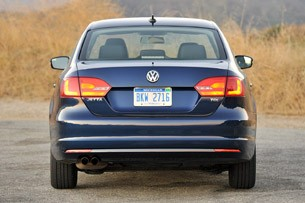 2011 Volkswagen Jetta TDI rear view