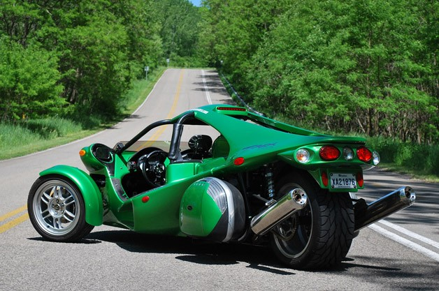 2012 Campagna T-Rex 14R rear 3/4 view
