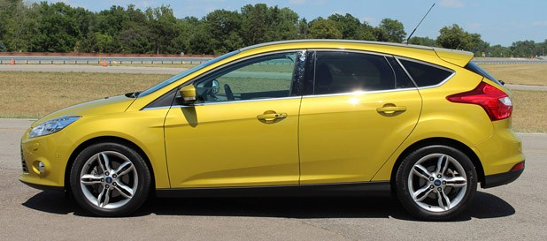 2012 Ford Focus 1.0-liter EcoBoost side view