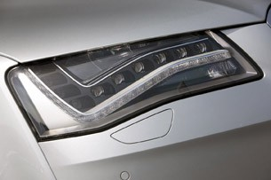 2012 Audi A8 Hybrid headlight