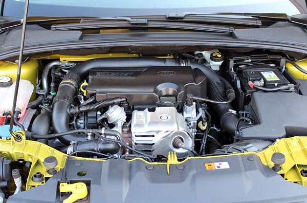 2012 Ford Focus 1.0-liter EcoBoost engine