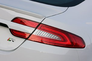 2012 Jaguar XFR taillight
