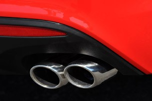2013 Hyundai Elantra Coupe exhaust tips