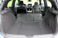 2012 BMW M135i rear cargo area