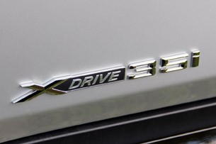 2013 BMW X1 badge