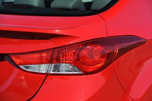 2013 Hyundai Elantra Coupe taillight