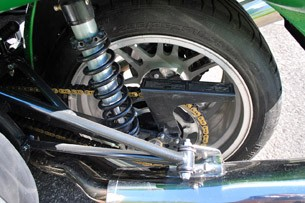 2012 Campagna T-Rex 14R rear suspension