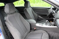 2012 BMW M135i front seats
