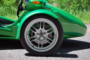 2012 Campagna T-Rex 14R wheel