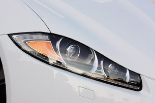 2012 Jaguar XFR headlight