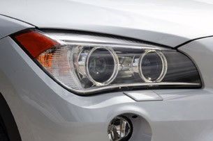 2013 BMW X1 headlights