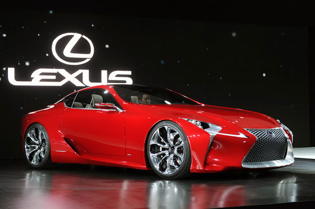 lexuslf lcforproduction Lexus LF LC production bound based on positive reaction?