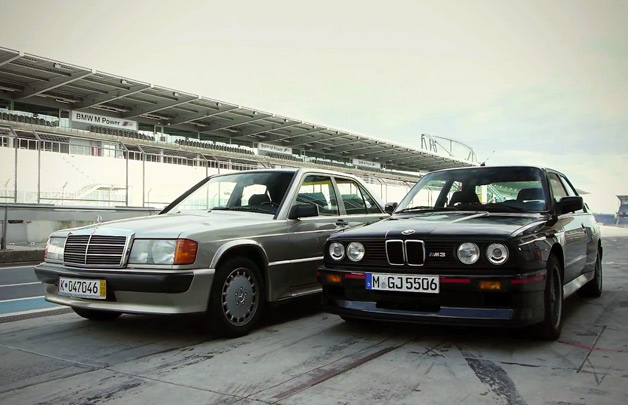 Mercedes-Benz 190E 2.3-16 vs BMW E30 M3