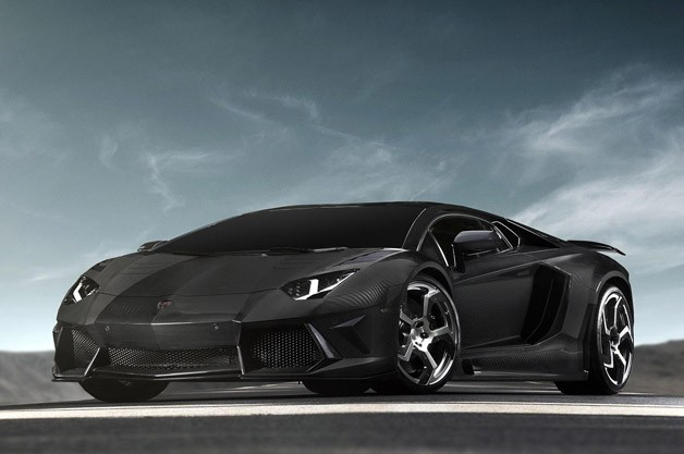 Lamborghini Aventador-based Mansory Carbonado - front three-quarter view