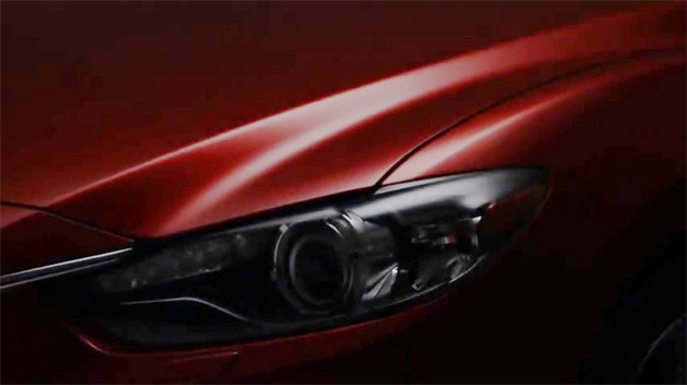 2013 Mazda6 teaser video #1 - headlight and grille