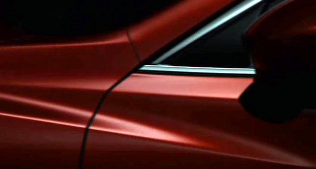 Next Mazda6 teaser video no. 2 - fender closeup