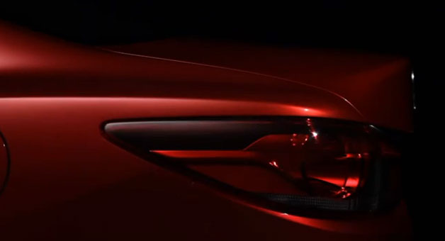 Next Mazda6 teaser #3 - taillight screencap