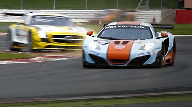 McLaren 12C GT3 at SPA