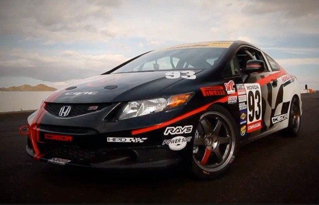2012 Honda Civic Si Grand Am racer