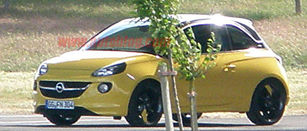 Opel Adam Spy Photos