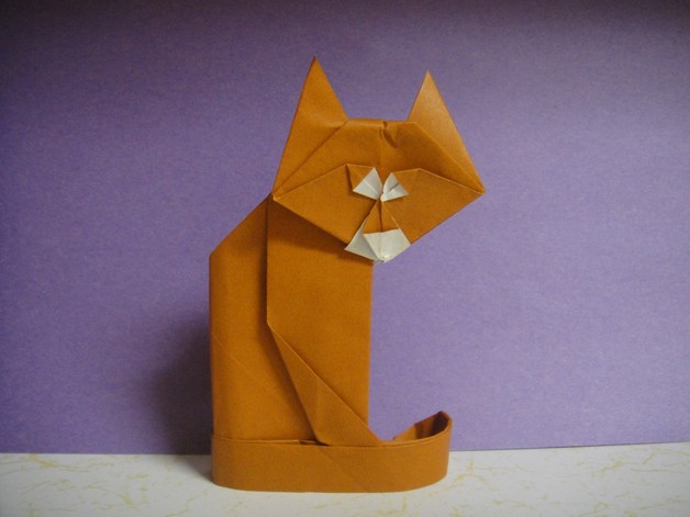 paper cat 628 Why it takes mad origami skills to work as a Lexus upholsterer