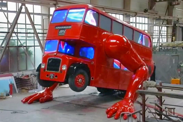 Pushup Olympic bus
