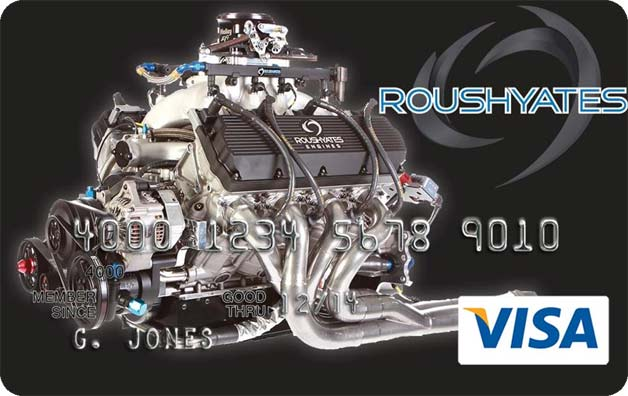 roush yates credit card