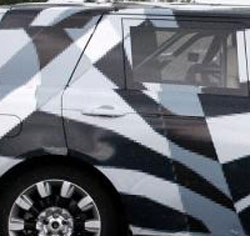 Land Rover Range Rover spy shot - crop