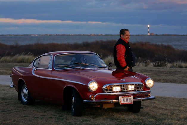 Three Million Mile Volvo P1800 with owner Irv Gordon