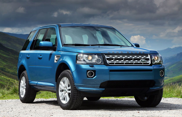 2013 Land Rover LR2 - Front three-quarter view, static