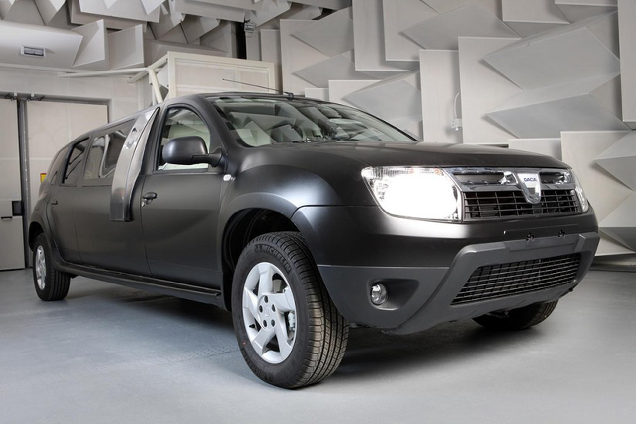 dacia duster limousine photo gallery autoblog. Black Bedroom Furniture Sets. Home Design Ideas