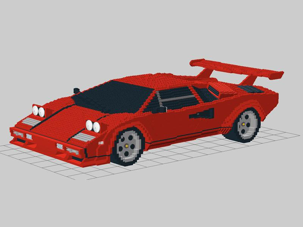 Lego Lamborghini Countach Photo Gallery Autoblog