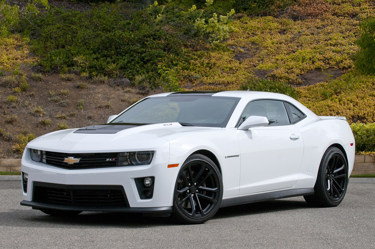 2012 Chevrolet Camaro Zl1 Coupe W Video Autoblog
