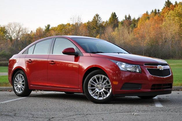 2012 Chevrolet Cruze Eco - front three-quarter view