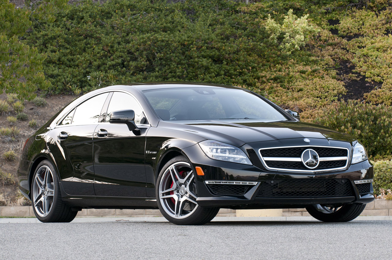 2012 mercedes benz cls63 amg w video autoblog