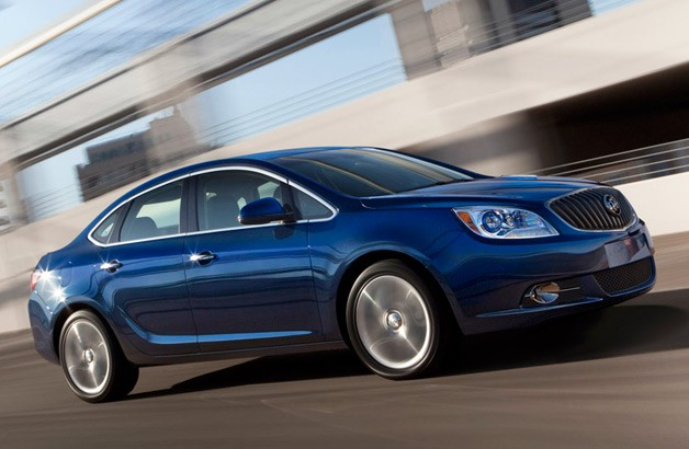 2013 Buick Verano Turbo - moving three-quarter view