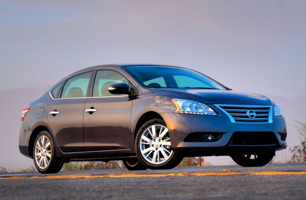 2013 Nissan Sentra - front three-quarter static view