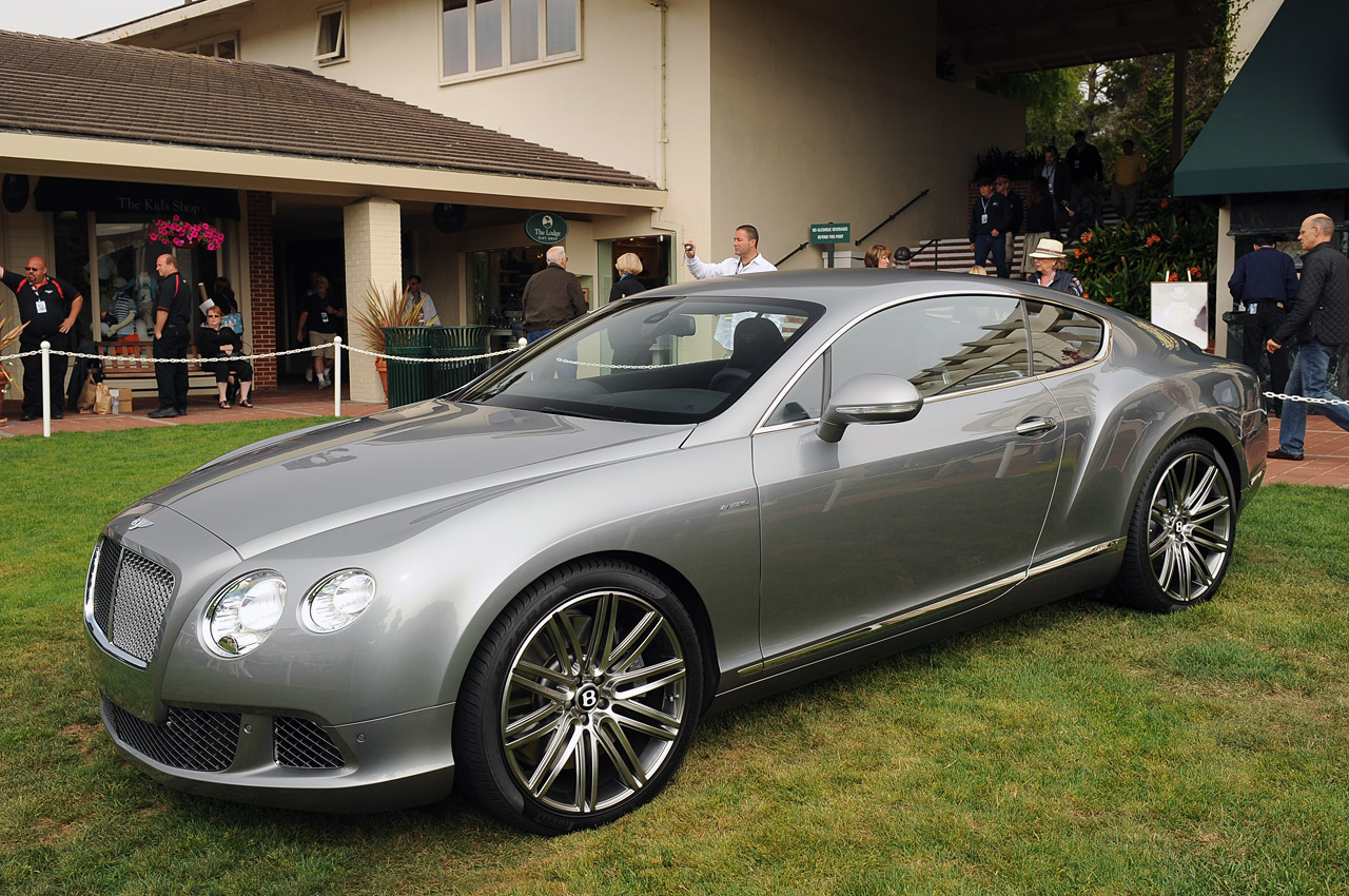 2013 Bentley Continental Gt Speed Makes Its North American