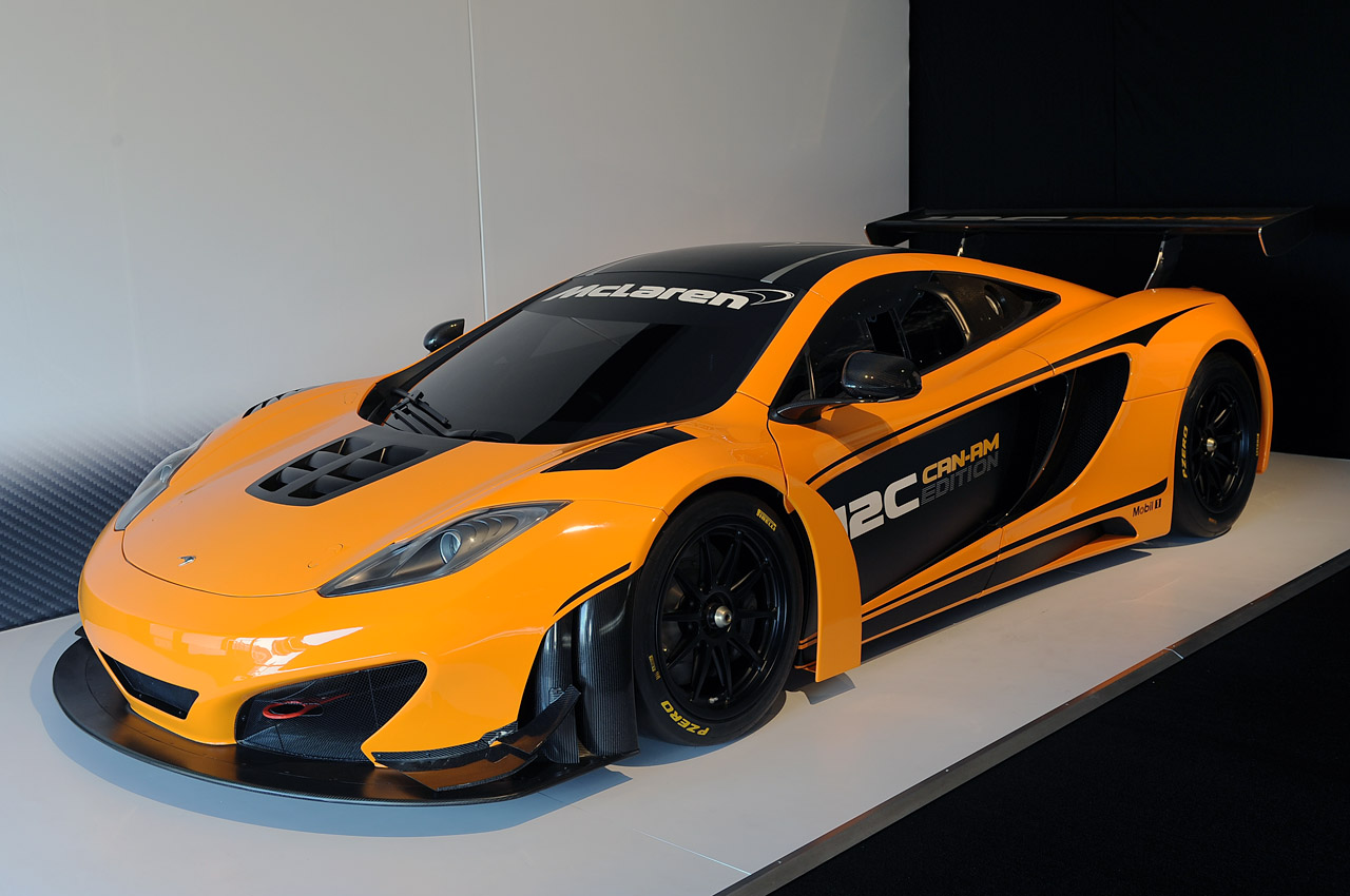 mclaren mp4 12c can am edition is go for production autoblog. Black Bedroom Furniture Sets. Home Design Ideas