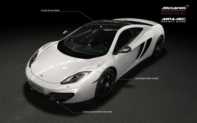 2012 McLaren MP4-12C Project Alpha - PDF scan