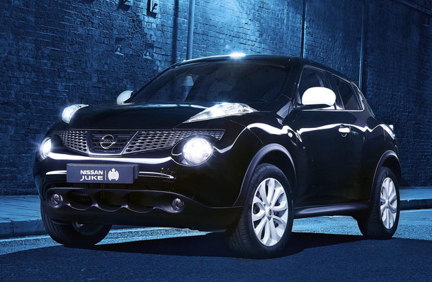 Nissan Juke Ministry of Sound Edition - black - front three-quarter view
