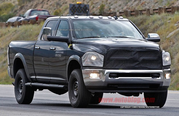 2014 Dodge Ram3500 http://www.autoblog.com/2012/08/28/2014-ram-hd-spotted-inside-and-out/