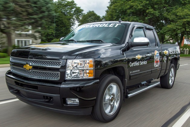Official: Chevrolet using Service Squad Silverado for roadside repairs during Woodward Dream Cruise - Autoblog