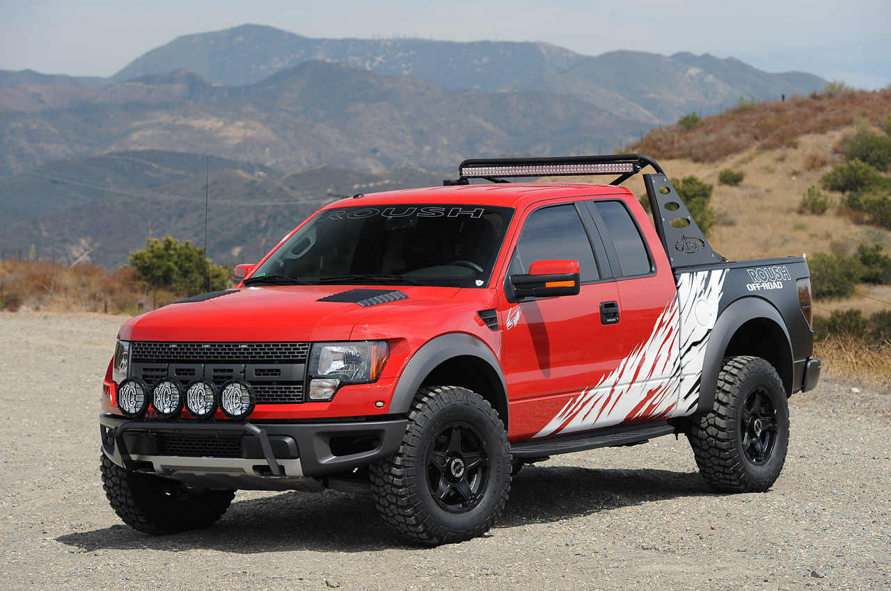 roush greg biffle build custom ford f 150 svt raptor for. Black Bedroom Furniture Sets. Home Design Ideas