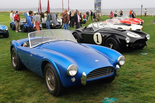 Shelby Cobra CSX2000 at Pebble Beach