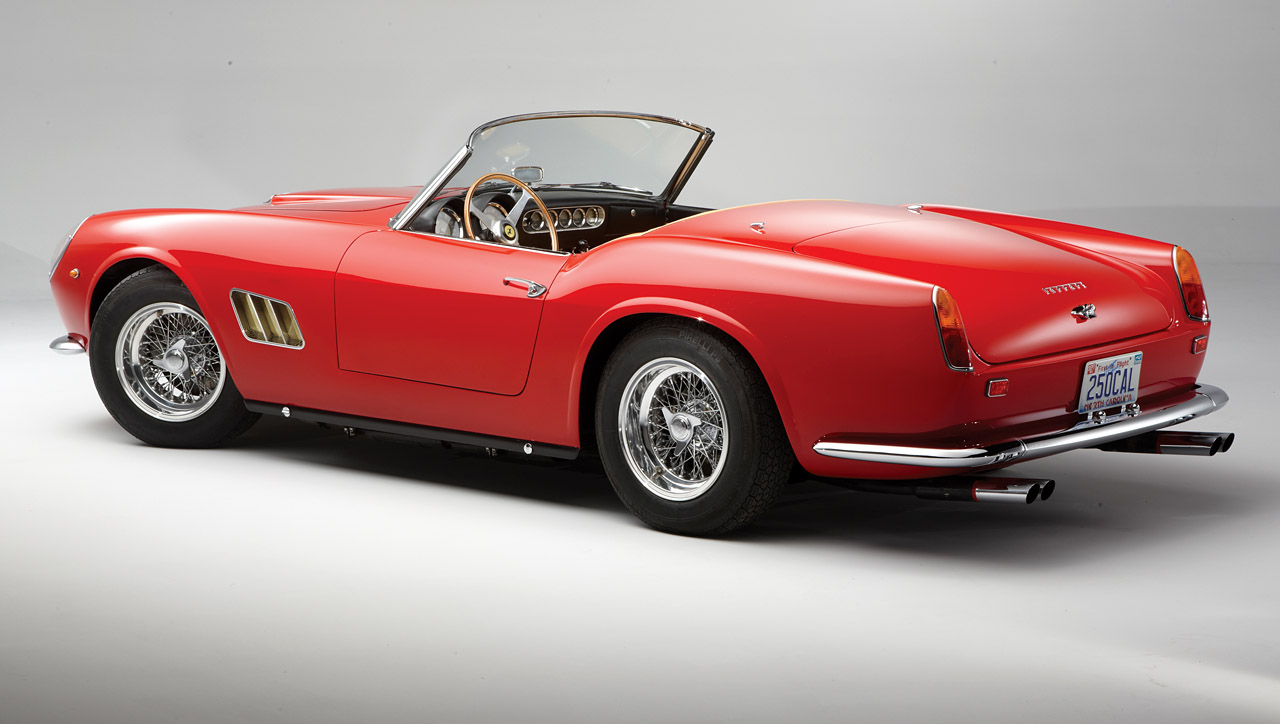 1962 Ferrari 250 Gt Swb California Spyder Added To Rm S