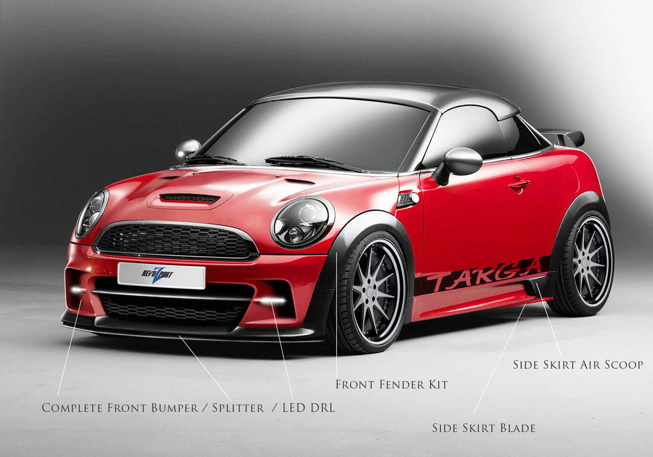 Mini Coupe made lighter, more powerful by Revozport - Autoblog