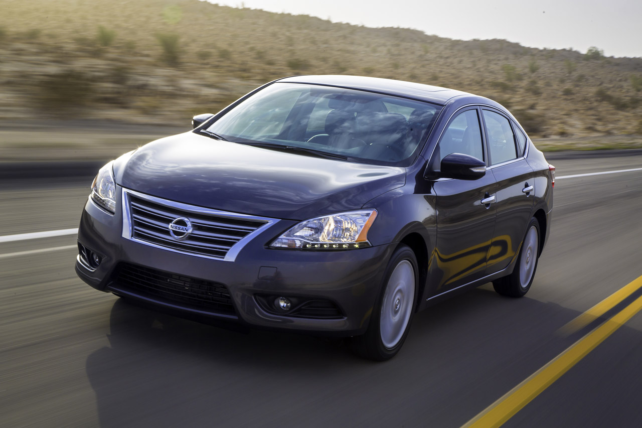 2013 nissan sentra priced from 15 990 autoblog. Black Bedroom Furniture Sets. Home Design Ideas