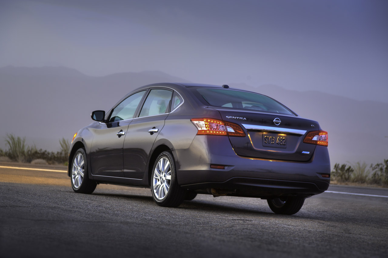 2013 Nissan Sentra Debuts With Improved Cvt 40 Mpg Autoblog
